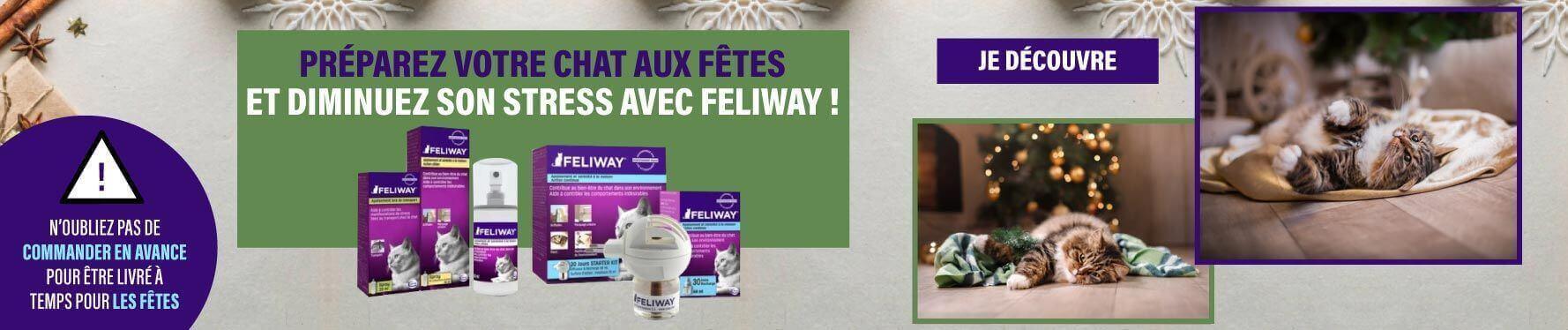 Feliway la solution anti-stress pour chat !
