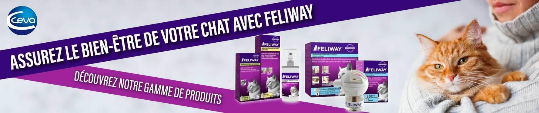 Découvrez notre gamme de produits Feliway