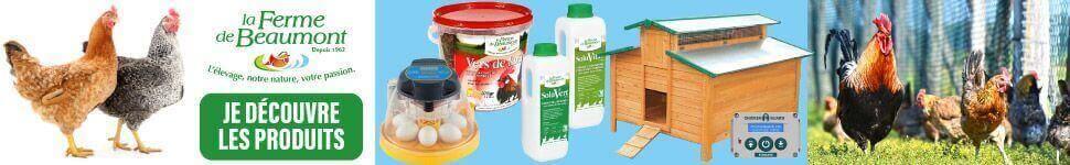 Produits Ferme de Beaumont pour volailles
