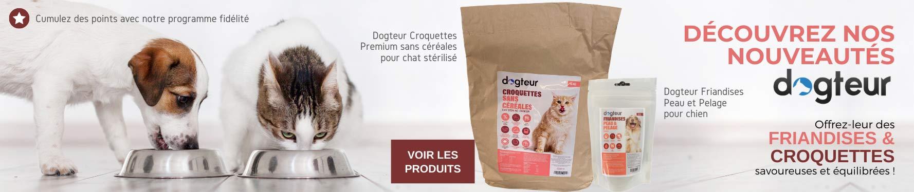 Nouveaux produits Dogteur
