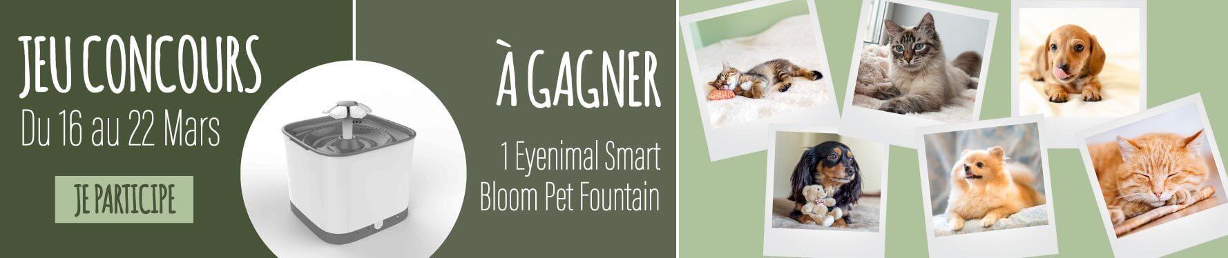 Jeu concours Eyenimal Smart Bloom Pet Fountain