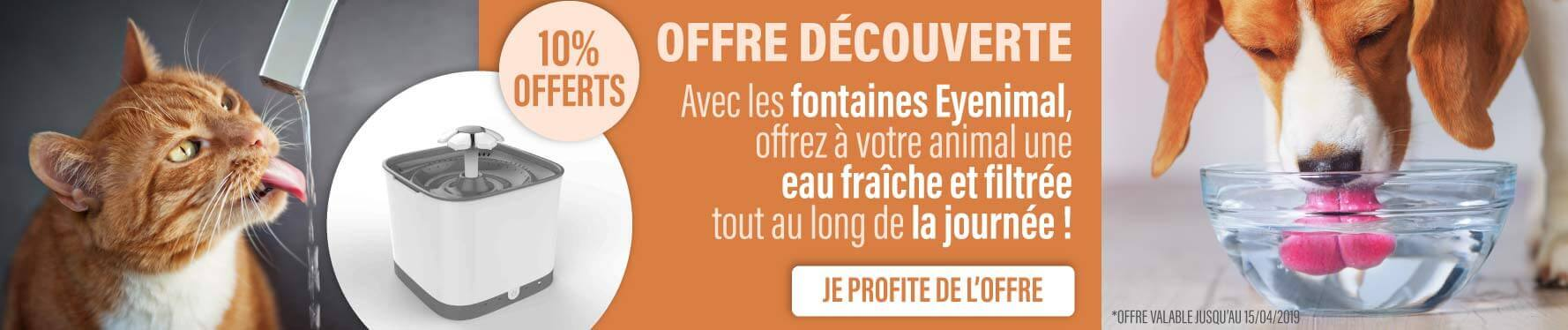 Offre Fontaines Eyenimal