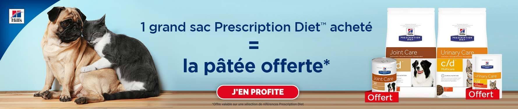 Offre Hill's Prescription Diet Mars