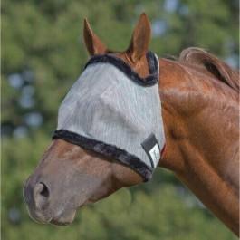 Farnam SUPERMASK Silver / Black HORSE - La Compagnie Des Animaux