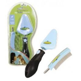 Kit toilettage Furminator peigne et brosse chiot - La Compagnie Des Animaux
