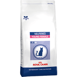 Royal Canin Vet Care Nutrition Neutered Cat Young Female 10 kg - La Compagnie Des Animaux