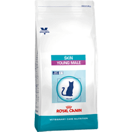 Royal Canin Vet Care Nutrition Cat Skin Young Male 400 grs - La Compagnie Des Animaux