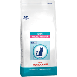 Royal Canin Vet Care Nutrition Cat Skin Young Female 1.5 kg - La Compagnie Des Animaux