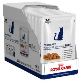 Royal Canin Vet Care Nutrition Cat Neut. Weight Balance 12x100 grs - La Compagnie Des Animaux
