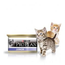 Purina Proplan Cat Junior au poulet 24 x 85 grs - La Compagnie Des Animaux