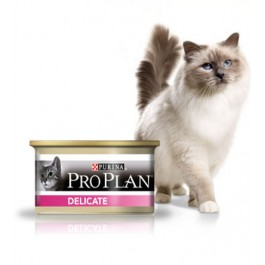 Purina Proplan Cat Delicate Dinde 24 x 85 grs - La Compagnie Des Animaux