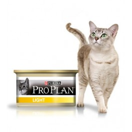 Purina Proplan Cat Light Dinde 24 x 85 grs - La Compagnie Des Animaux