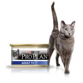 Purina Proplan Cat Adult 7+ Thon 18 boites de 85 grs + 6 offertes - La Compagnie Des Animaux
