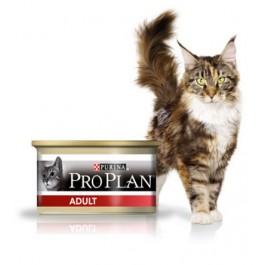 Purina Proplan Cat Adult Poulet 18 boites de 85 grs + 6 offertes - La Compagnie Des Animaux