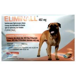 Eliminall Chien +40kg 6 pipettes (générique Frontline) - La Compagnie Des Animaux