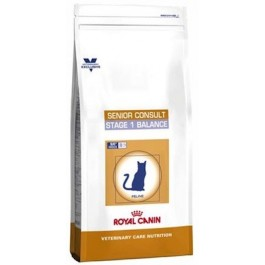 Royal Canin Vet Care Nutrition Cat Senior Consult Stage 1 1.5 kg - La Compagnie Des Animaux