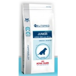 Royal Canin Vet Care Nutrition Neutered Junior Large Dog 4 kg - La Compagnie Des Animaux
