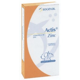 Actis Zinc - 30 cps - La Compagnie Des Animaux