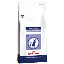 Royal Canin Vet Care Nutrition Cat Neutered Satiety Balance 400 grs - La Compagnie Des Animaux