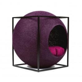 Meyou Le Cube prune pour chat - La Compagnie Des Animaux