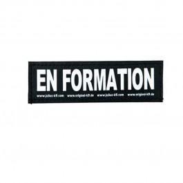 2 Stickers Velcro Julius K9 taille S EN FORMATION - La Compagnie Des Animaux
