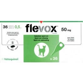 Flevox Chat 36 pipettes ( generique Frontline ) - La Compagnie Des Animaux