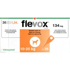 Flevox Chien 10-20kg 1 pipette ( generique Frontline ) - La Compagnie Des Animaux