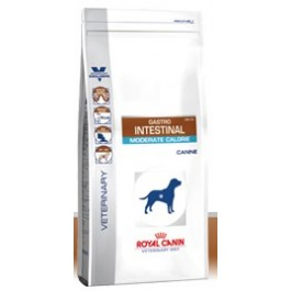 Royal Canin Veterinary Diet Dog Gastro Intestinal Moderate Calorie GIM23 14 kg - La Compagnie Des Animaux