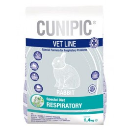 Cunipic Vet Line Lapin Respiratory 1,4 Kg - La Compagnie Des Animaux