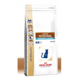 Royal Canin Veterinary Diet Cat Gastro Intestinal Moderate Calorie GIM35 4 kg - La Compagnie Des Animaux