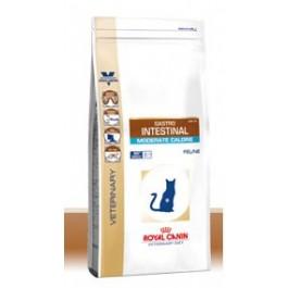 Royal Canin Veterinary Diet Cat Gastro Intestinal Moderate Calorie GIM35 4 kg - La Compagnie Des Animaux