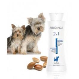 Biogance Shampooing 2 en 1 pour Chien et Chiot 250 ml - La Compagnie Des Animaux