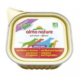 Almo Nature Chien Daily Menu Bio Boeuf et Legumes 9 x 300 grs - La Compagnie Des Animaux