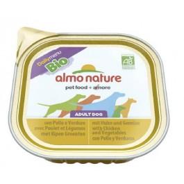 Almo Nature Chien Daily Menu Bio Poulet et Legumes 9 x 300 grs - La Compagnie Des Animaux
