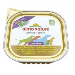 Almo Nature Chien Daily Menu Bio Veau et Legumes 9 x 300 grs - La Compagnie Des Animaux