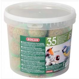 Zolux boules de graisses 35 x 90 grs - La Compagnie Des Animaux
