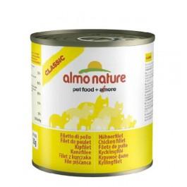 Almo Nature Chat Classic Filet de Poulet 12 x 280 grs - La Compagnie Des Animaux