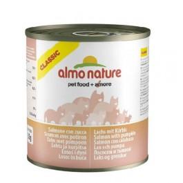 Almo Nature Chat Classic Saumon et Potiron 12 x 280 grs - La Compagnie Des Animaux
