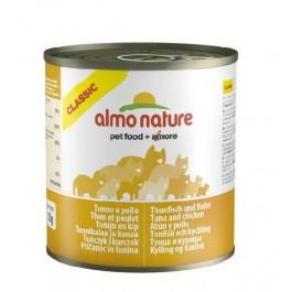Almo Nature Chat Classic Thon et Poulet 12 x 280 grs - La Compagnie Des Animaux