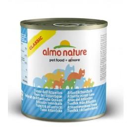 Almo Nature Chat Classic Thon de l'Atlantique 12 x 280 grs - La Compagnie Des Animaux