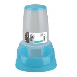 M-Pets Distributeur de croquettes bleu 2500 ml - La Compagnie Des Animaux
