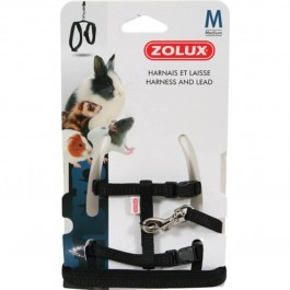 Zolux Kit Harnais petit mammifère casual noir M - La Compagnie Des Animaux