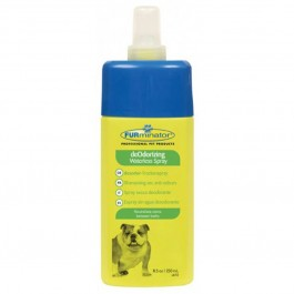 Furminator Shampoing sans rinçage désodorisant chien spray 250 ml - La Compagnie Des Animaux