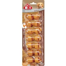 8in1 Delights Porc XS pour chien x7 - La Compagnie Des Animaux