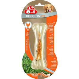 8in1 Friandises Os Delight Strong pour chien M 90 g - La Compagnie Des Animaux