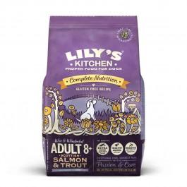 Lily's Kitchen Saumon et Truite Sans Gluten Chien Senior 2,5 kg - La Compagnie Des Animaux