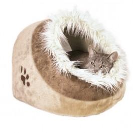 Trixie Abri pour chat Minou beige/brun 35 x 26 x 41 - La Compagnie Des Animaux