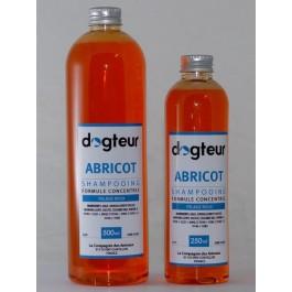 Offre Dogteur: 1 Shampooing PRO Dogteur Abricot 10 L acheté = 1 gant de toilettage offert - La Compagnie Des Animaux