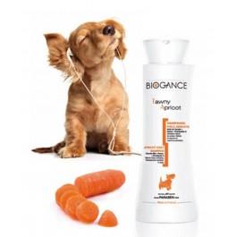 Biogance Shampooing Poils Abricots pour Chien, Chiot et Chat 250 ml - La Compagnie Des Animaux