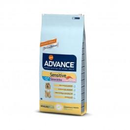 Advance Sensitive Saumon Chien 12 kg - La Compagnie Des Animaux